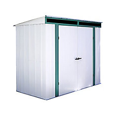 Euro-Lite 8 ft. x 4 ft. Pent Roof Window Shed