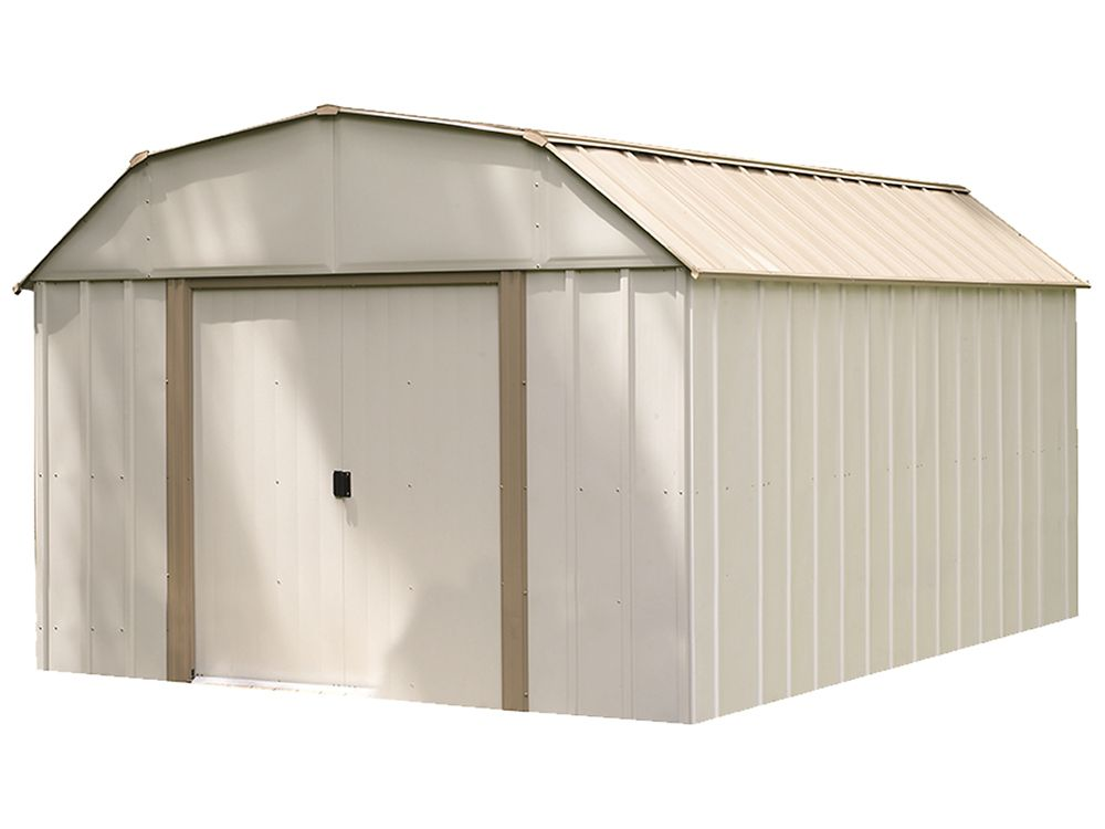 Lexington Steel Storage Shed 10 x 14 Feet