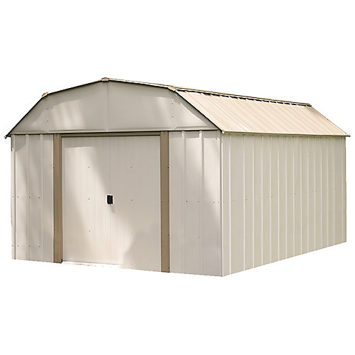 Lexington 10 ft. x 14 ft. Steel Storage Shed