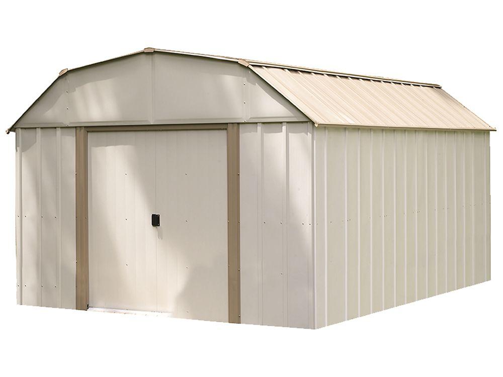 Arrow Lexington 10 ft. x 14 ft. Steel Storage Shed