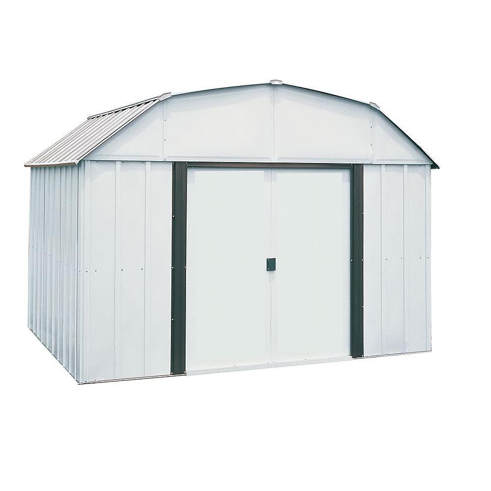 Lexington 10 ft. x 8 ft. Steel Storage Shed
