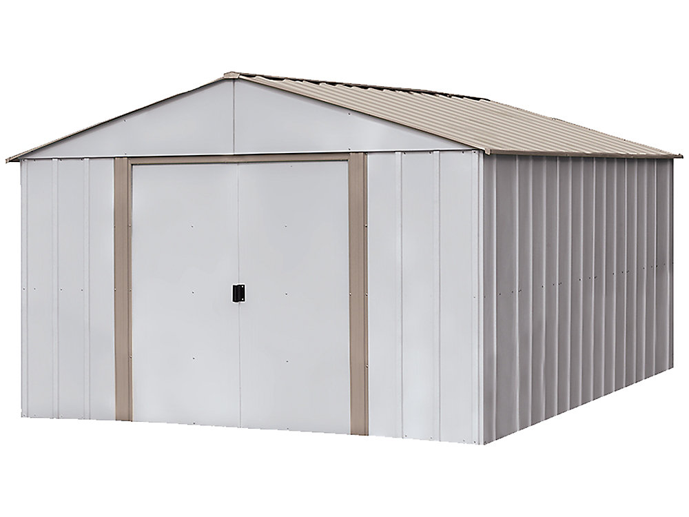 Arrow Oakbrook 10 ft. x 14 ft. Steel Storage Shed | The ...