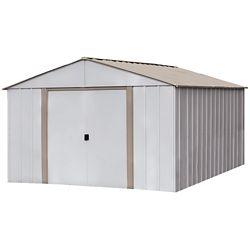 Arrow Oakbrook 10 ft. x 14 ft. Steel Storage Shed