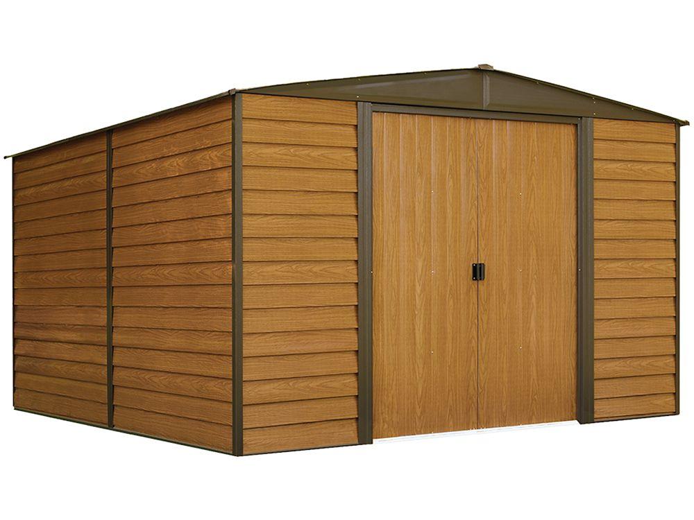 Woodridge Steel Storage Shed 10 x 12 Feet