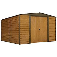 Woodridge 10 ft. x 12 ft. Steel Storage Shed