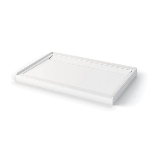 Distinct 48  Inch  x 32  Inch  Acrylic Shower Base in White