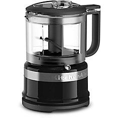 3.5 Cup Mini Food Processor in Onyx Black