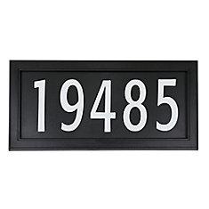 Modern Easy Install Address Plaque