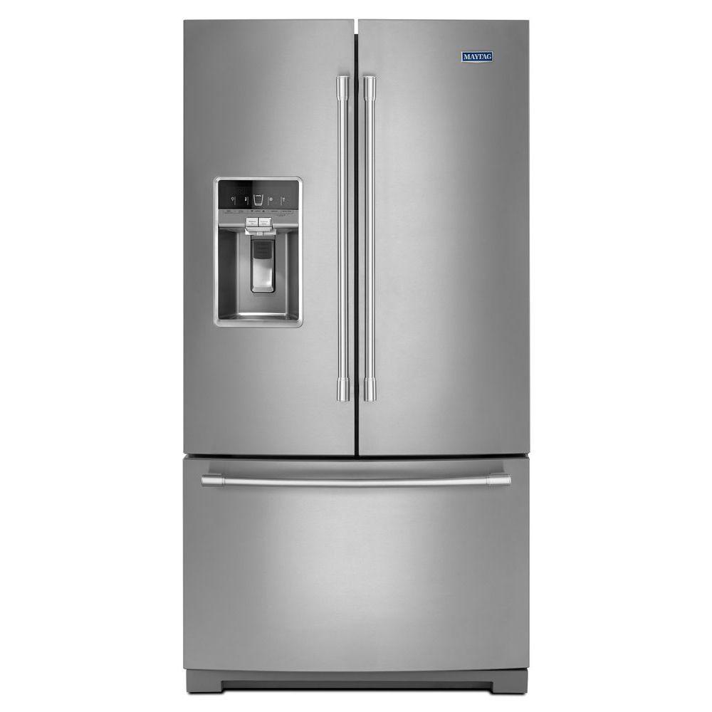 Réfrigérateur à portes françaises Maytag<sup>®</sup> avec évaporateurs doubles Dual Cool<sup>®</s...