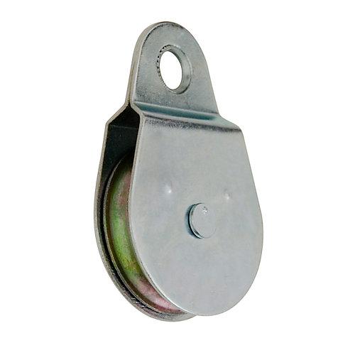 2-1/2 inch  Heavy-Duty Single-Sheave, Fixed-Eye Pulley