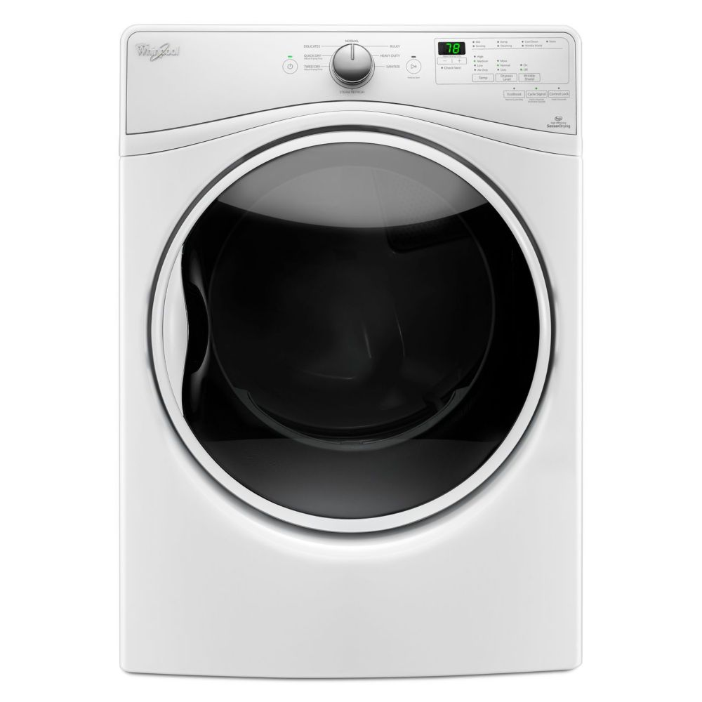 7.4 cu. Feet Electric Dryer with Quick Dry Cycle