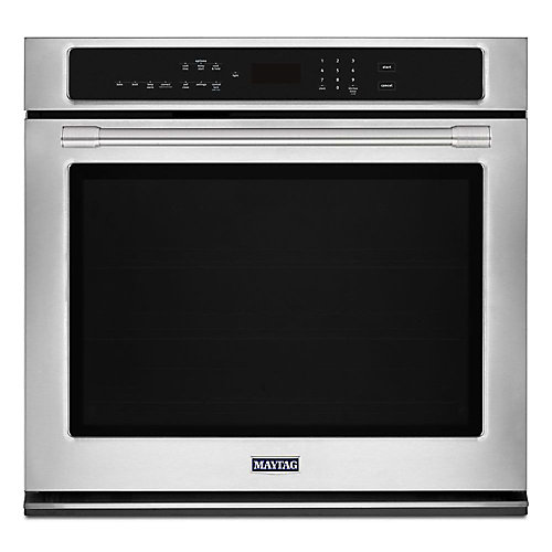 27-inch 4.3 cu. ft. Single Electric Wall Oven with Convection in Fingerprint Resistant Stainless Steel