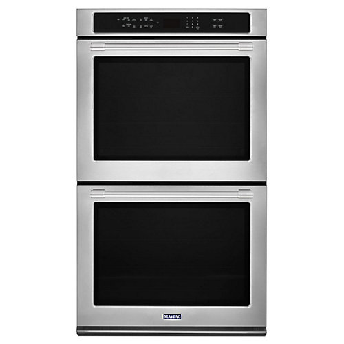 30-inch 10 cu. ft. Double Electric Wall Oven with Convection in Fingerprint Resistant Stainless Steel