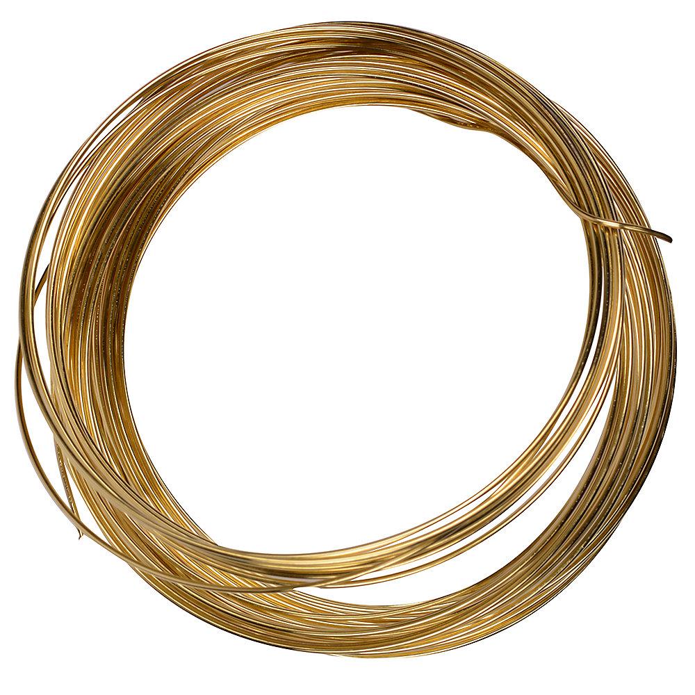 Brass Tie Wire 22GX35 ft.