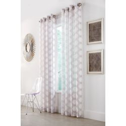 Home Decorators Collection Panneau de draperie à œillets, taupe, 52 x 95