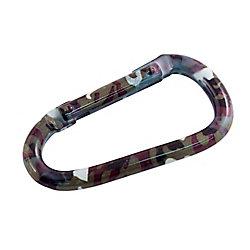 Everbilt 2-3/4 inch Camouflage Aluminum Spring Snap - 40-Piece Gravity Bin