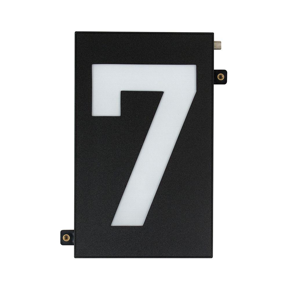 ab99577b847 Taymor Modular 5-inch Black LED Illumination House Number