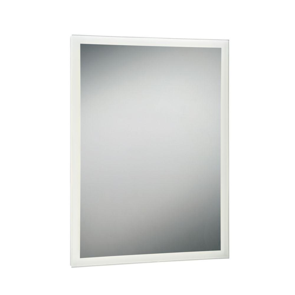 Rectangular Edge-Lit LED Mirror