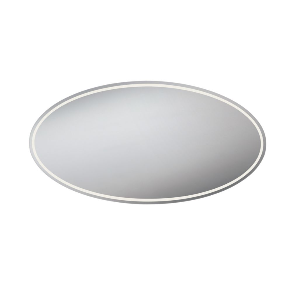 Oval Front-Lit LED Mirror