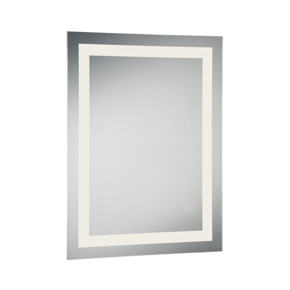 Rectangular Small Front-Lit LED Mirror