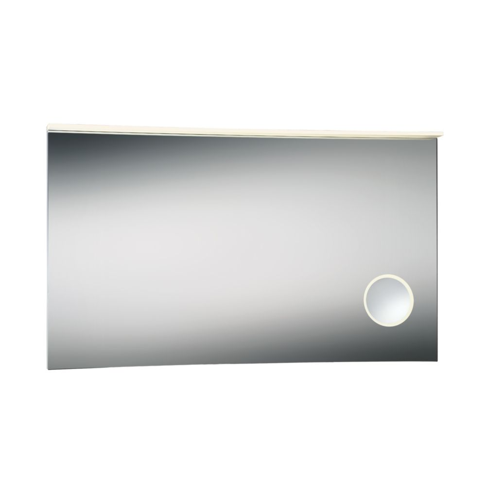 Large Magnifier LED Mirror