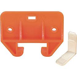 Prime-Line Guide de tiroir, pour rail de 1-1/16 po., en nylon