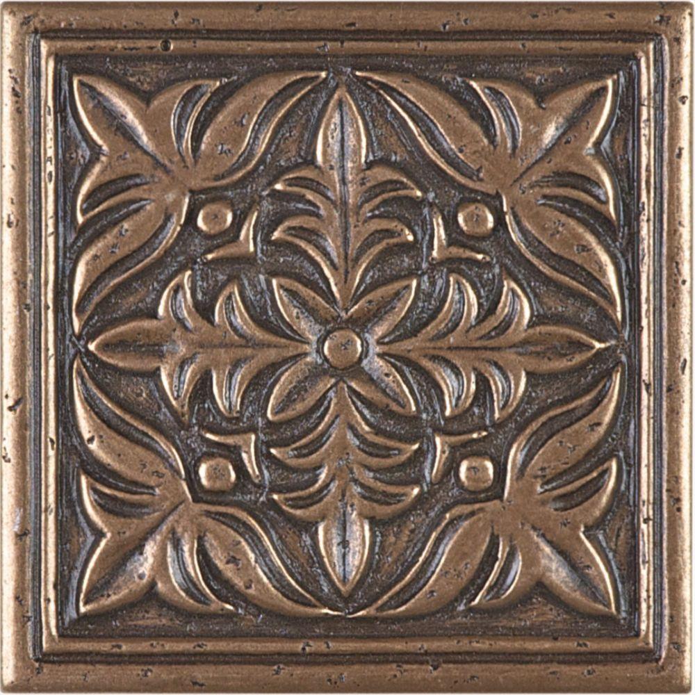 "354388 2""x12"" Bronze Cimaises en métal"