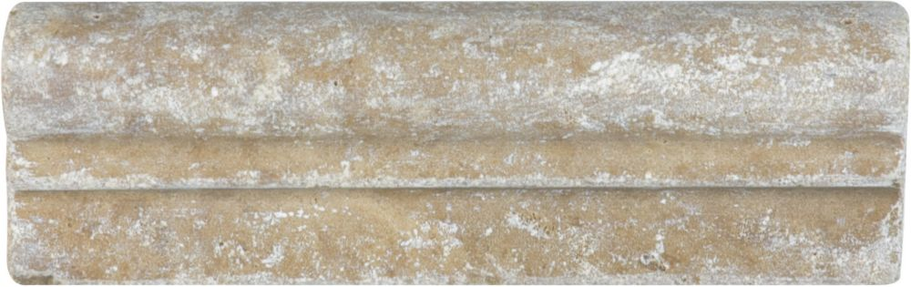 2-Inch x 6-Inch Noce Travertine Chair Rail