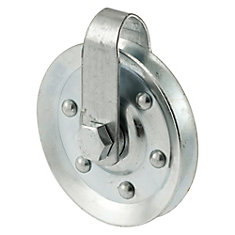 Pulley W/Strap & Bolt, 3 inch. Diameter