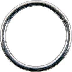 Everbilt 2 inch Nickel-Plated Welded Harness Ring - 2-Piece