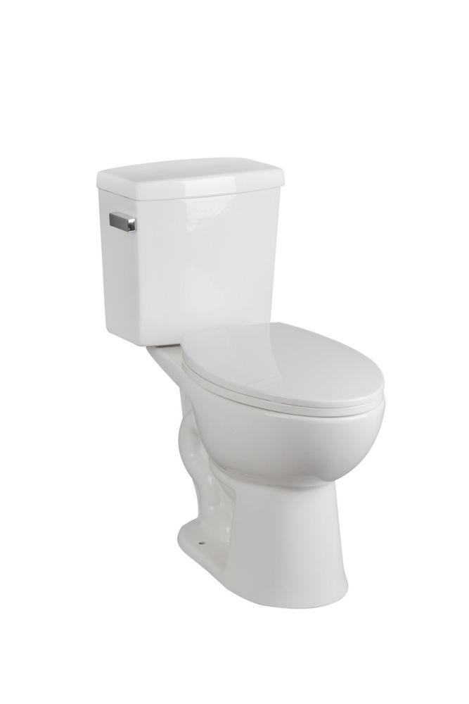 GLACIER BAY 17.3 inch bowl height toilet