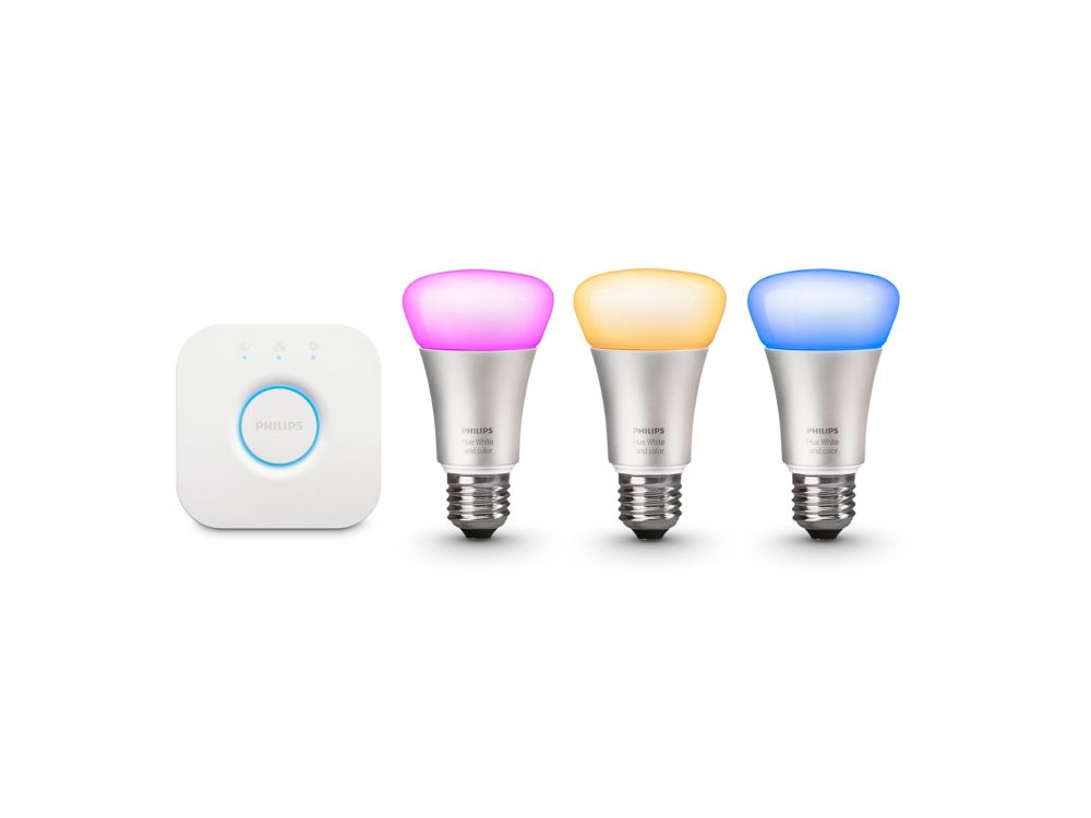 Hue White And Colour Ambiance A19 Starter Kit (Gen 3)