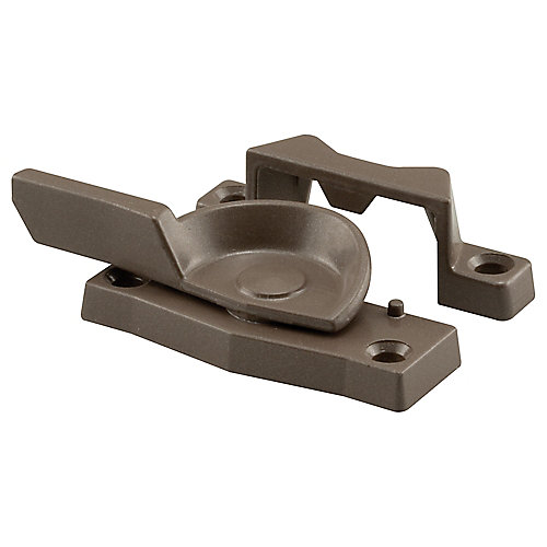 Window Sash Lock, Cam Action, Heavy Duty, Bronze Finish
