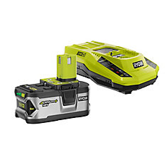 18V ONE+ Lithium-Ion 4.0 Ah LITHIUM+ Battery and IntelliPort Charger Starter Kit