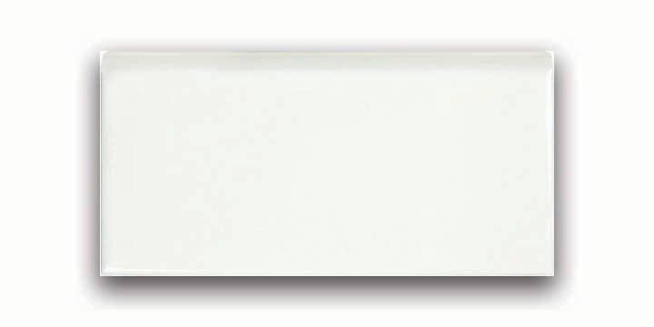 Wolfe Creek 3-inch x 6-inch Bullnose Tile in Bone