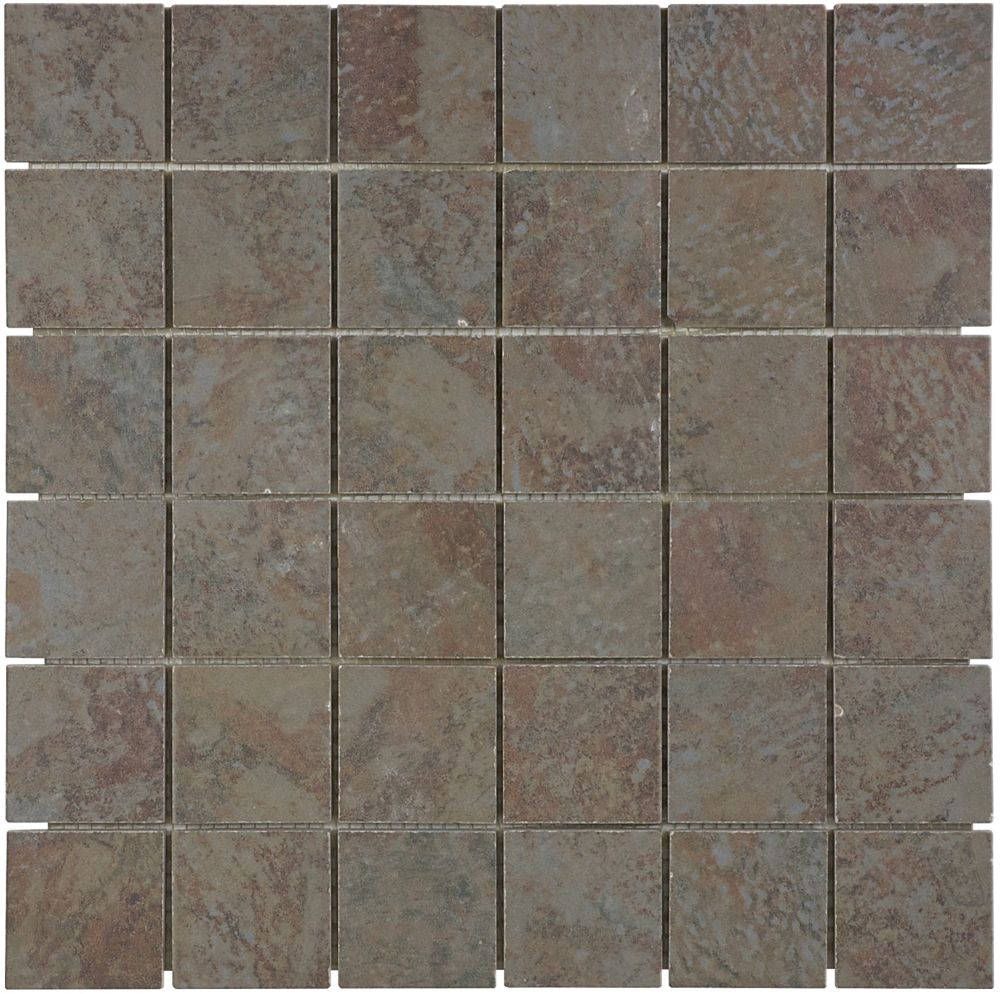 2 Inch x 2 Inch Tundra Multi Mosaics
