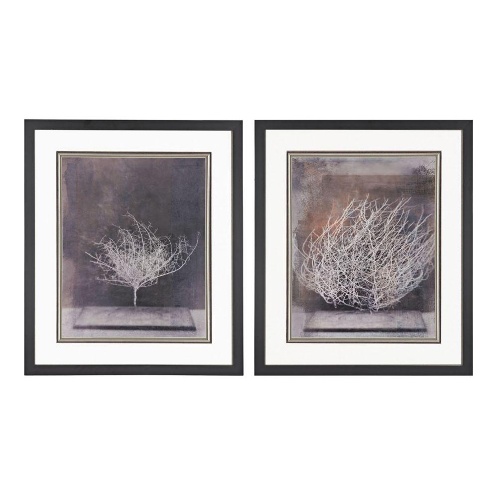 Desert Form V, VI - Print Under Glass
