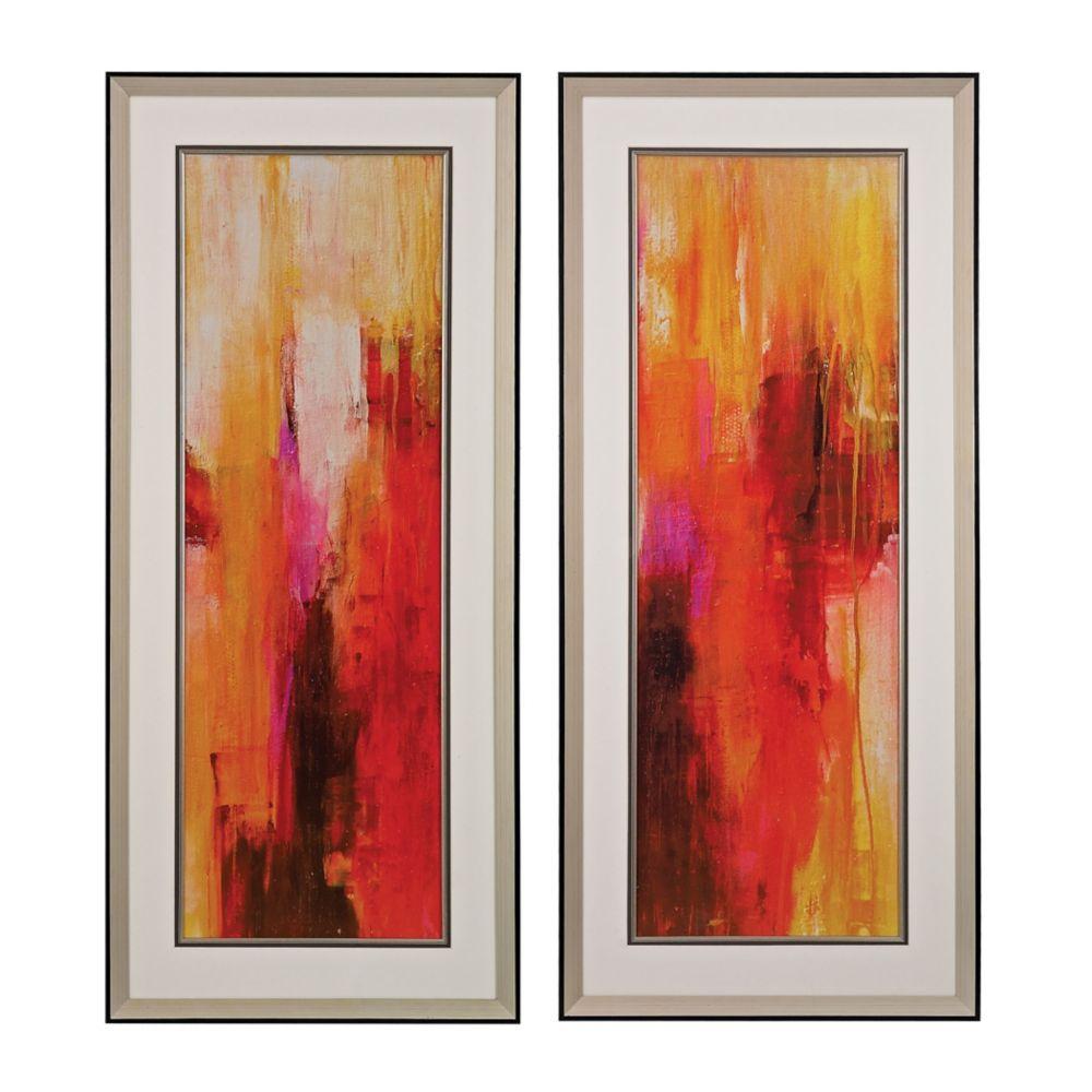 Sweet Karma I, II - Fine Art Giclee Under Glass