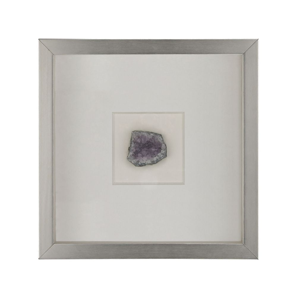 Natural Mineral Wall Décor - Lavender