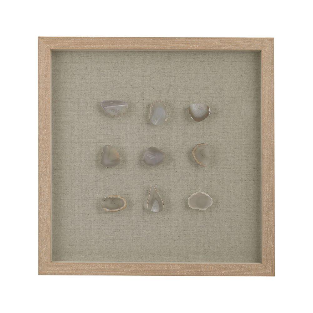 Natural Agate Shadow Box