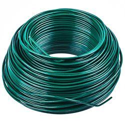 OOK Green PVC Steel Wire 20Gx100 ft.
