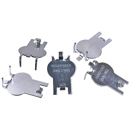 HIGH & MIGHTY 20-Lb Max High & Mighty Tool-Free Drywall Hangers - 5pcs