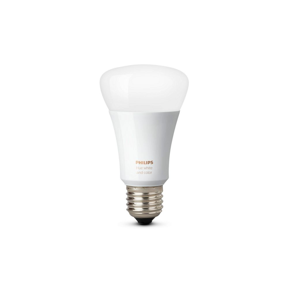 Philips Hue White and Colour Ambiance A19 60W Equivalent Dimmable LED Smart Bulb - ENERGY STAR®