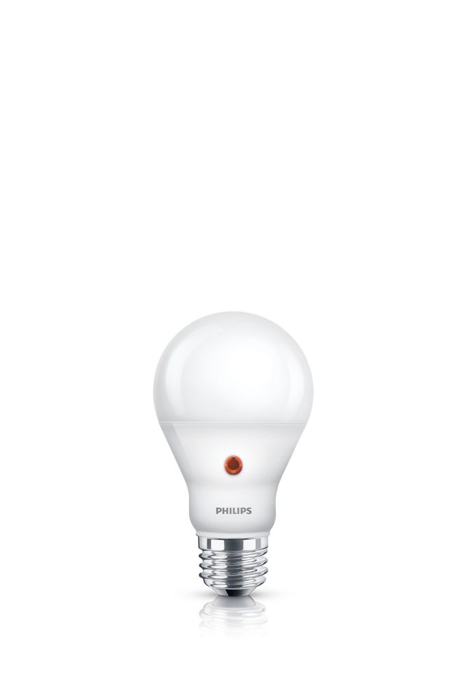 Philips LED 60W A19 Dusk to Dawn Soft White (2700K)