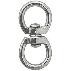 Everbilt 3/4 inch  x 2-3/4 inch  Zinc Die-Cast Double Swivel