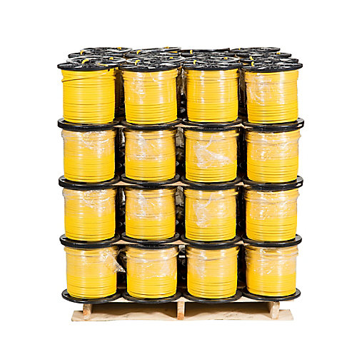 NMD90 12/2 yellow 150 M 48 Spool Pro Pallet