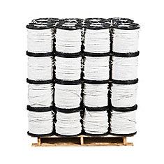 Câbre électrique en cuivre Romex SIMpull NMD90 – 14/3 Blanc 150 m – Palette de 48 bobines