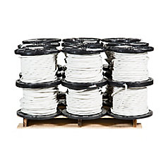 Câbre électrique en cuivre Romex SIMpull NMD90 – 8/3 Blanc 75 m – Palette de 18 bobines