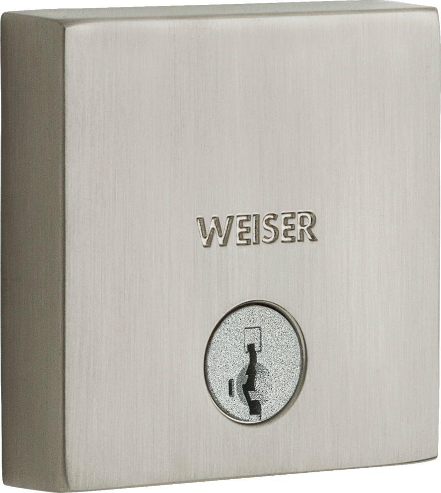 Weiser Smartcode 5 Satin Nickel Keyless Entry Deadbolt
