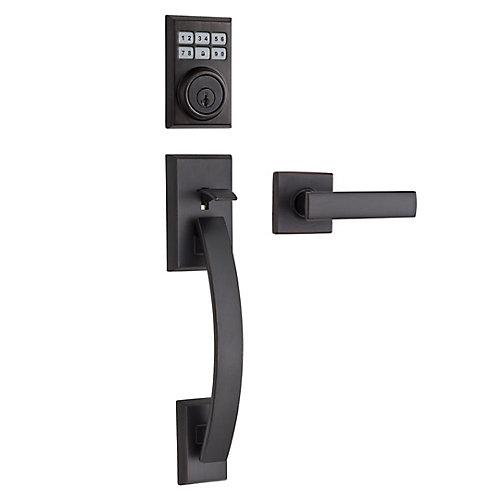 Tavaris/Vedani Smartcode Venetian Bronze Keyless Entry Keypad Handleset